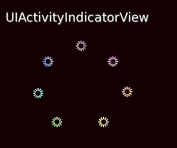 UIActivityIndicator View