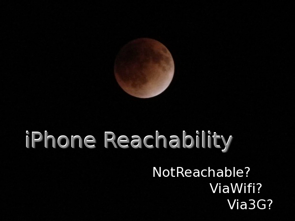 iPhone Reachability